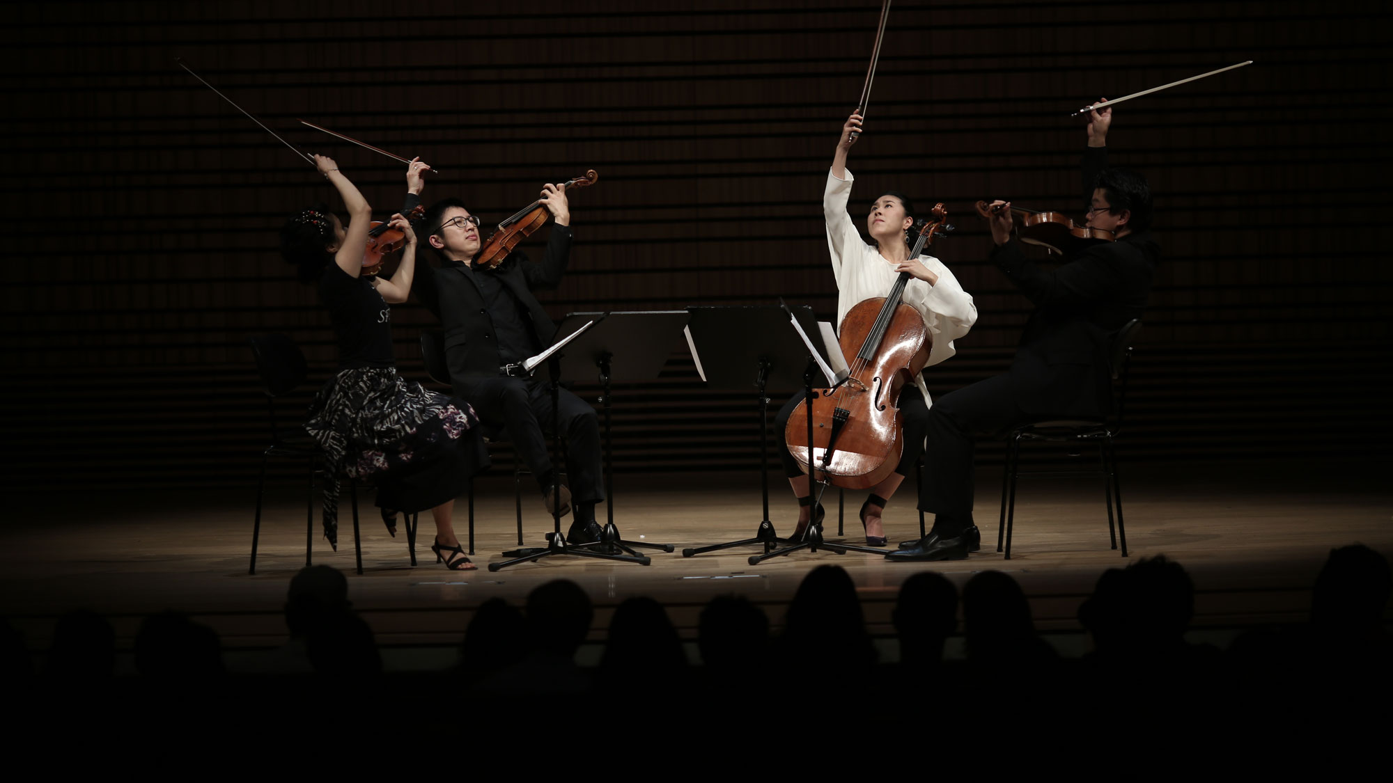 Formosa Quartet in the concert hall