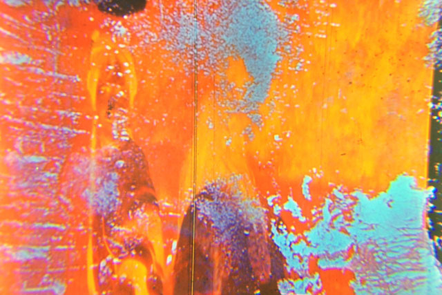 a psychedelic orange film still