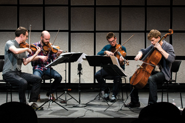 calder quartet in studio 2